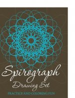 Spirograph Drawing Set: Practice and Coloring Fun