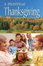 Prayer of Thanksgiving, a (Pack of 25)