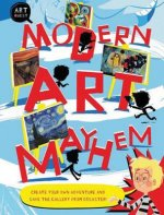 Modern Art Mayhem: Save the Day! Create Your Own Adventure and Save the Gallery from Disaster