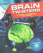 Large Print-Brain Twisters Volume #1: Mint Brain
