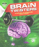 Large Print-Brain Twisters Volume 002: Lavender Brain