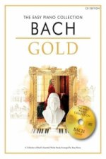 THE EASY PIANO COLLECTION BACH GOLD EASY PIANO BOOK/CD