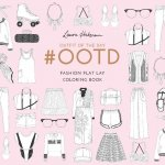 #Ootd: Fashion Flay Lay Coloring Book