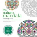 The Nature Mandala Coloring Book