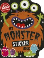 My Monster Sticker Book: Over 1000 Stickers