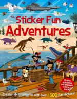 Sticker Fun Adventures: Create Scenes with Over 1500 Stickers