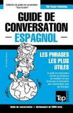 Guide de Conversation Francais-Espagnol Et Vocabulaire Thematique de 3000 Mots