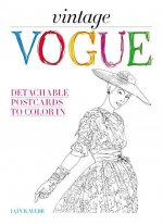 Vintage Vogue: Detachable Postcards to Color in