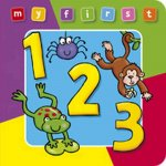 My First 123 Board Book Deluxe a Padded, Sturdy, Colorful Book for Ages 0-3, Full of Friendly Characters