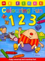 My First Colouring Fun - 123: Copy the Colors to Complete the Picture