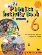 Jolly Phonics Activity Book 6 (in Print Letters)