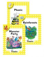 Jolly Phonics Readers Level 2, Complete Set (in Print Letters)