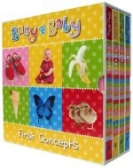 Busy Baby Sparklies 4 Volume Boxed Set: Baby's First Box of Books