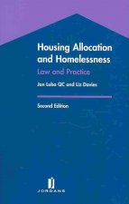 Housing Allocation and Homelessness: Law and Practice (Second Edition)
