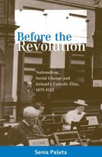Before the Revolution: Nationalism, Social Change and Ireland's Catholic Elite, 1879-1922