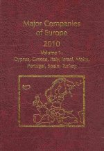 Major Companies of Europe 2010, 29th Ed., 7 Vol. Set