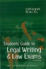 Student's Guide to Legal Writing and Law Exams