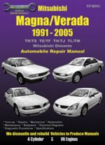 Mitsubishi Magna/Verada (Diamante) Automotive Repair Manual: 1991-2005