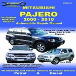 Mitsubishi - Pajero Vehicle Repair Manual