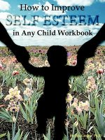 How to Improve Self-Esteem in Any Child Workbook
