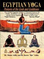 Egyptian Yoga Exercise Workout Book