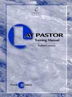 The Lay Pastor Training Manual