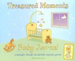 Treasured Moments Baby Journal: A Beautiful, Cheerful and Adorable Keepsake Journal [With StickersWith Growth Chart]