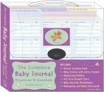 The Complete Baby Journal, Organizer & Keepsake [With Emergency and Baby Info Cards and Baby Journal, Organizational Folders and Full Size Growth C