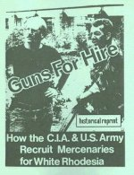 Guns for Hire: How the C.I.A & U.S. Army Recruit Mercenaries for White Rhodesia