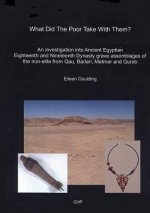 What Did the Poor Take with Them?: An Investigation Into Ancient Egyptian Eighteenth and Nineteenth Dynasty Grave Assemblages of the Non-Elite from Qa