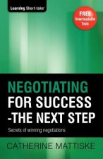 Negotiating for Success - The Next Step