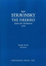 Firebird Suite, 1919 version - Study score