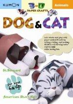 3D Craft: Animals: Cat & Dog