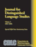 Journal for Distinguished Language Studies 5