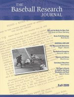 The Baseball Research Journal (Brj), Volume 38 #2
