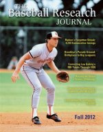 Baseball Research Journal (Brj), Volume 41 #2