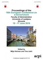 ECEG 2016 - Proceedings for the 16th european conference on e-government