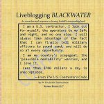 Liveblogging Blackwater by Jeremy Scahill: Unauthorized Color Commentary, Maps, and Images