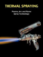 Thermal Spraying - Plasma, ARC and Flame Spray Technology