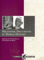 Milestone Documents in World History, Volume 1