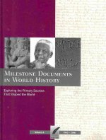 Milestone Documents in World History, Volume 4