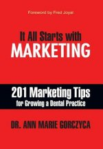 It All Starts with Marketing: 201 Marketing Tips for Growing a Dental Practice