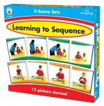 Learning to Sequence 4-Scene Sets: 12 Picture Stories!