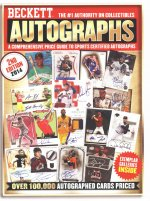 Beckett 2014 Autograph Price Guide 2nd Edition