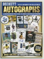 Beckett Autographs Price Guide