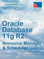 Oracle Database 11g R2: Resource Manager & Scheduler