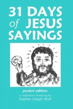31 Days of Jesus Sayings Pocket Edition