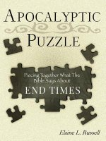 The Apocalyptic Puzzle: Piecing Together What the Bible Says about the End Times