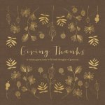 Giving Thanks: A Holiday Guest Book to Fill with Thoughts of Gratitude