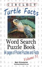 Circle It, Turtle Facts, Word Search, Puzzle Book